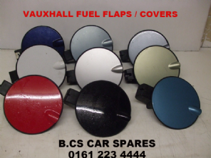 VAUXHALL  CORSA  D  BLACK . RED BLUE ETC    FUEL FLAP / COVER   2008 - 2009 - 2010 - 2011   BLACK  COLOURS